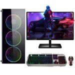 İzoly N12x İ5-3470 8GB 240SSD 500GB RX550 4GB 24″Oyun Bilgisayarı